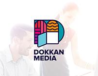 DOKKAN MEDIA Logo & Branding