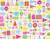 Birthday Party (Birthday Giftwarp/Bag for USA)