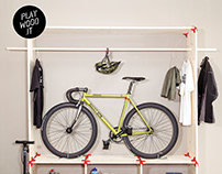 Garage racks, storage DIY free projects