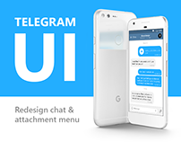 UI Design for Telegram Android App