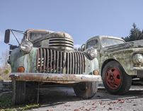 Verlassene Autos