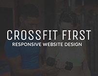 Crossfit First - Responsive Website
