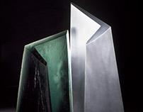Australian Cast Glass Sculpture   Glass Artist Studio