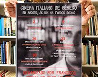 Poster Ciclo de Cinema Italiano