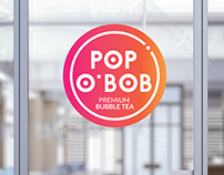 POP O'BOB • premium bubble tea