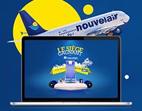 Le Siège Gagnant by Nouvelair