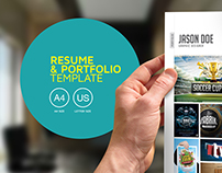 Resume & Portfolio Template