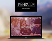 Web site for Creative Agency