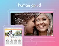 HumanGood Website Design