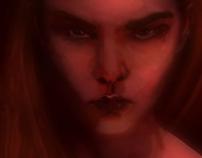 Digital Painting – Expressive Portrait Project