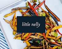 Little Nelly Catering Brand & Website