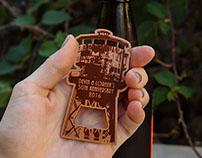 Custom Copper Metal Bottle Openers