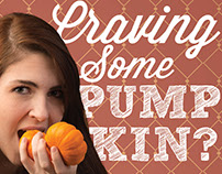 Pumpkin Spice Latte Ad Series