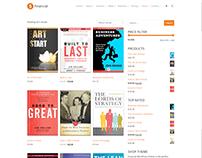 Shop Page - Financial WordPress Theme