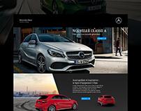 Mercedes-Benz / Classe A  / Landingpage