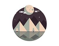 Moon night   Vectoria vvorld II