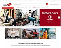 IsouCenter.es Web Design Shopify
