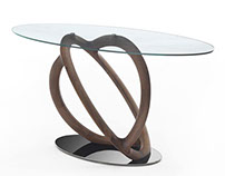 KOSMO CONSOLE - design Stefano Bigi for Porada