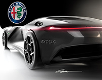 My Alfa Romeo Speedster Concept redesigned by me