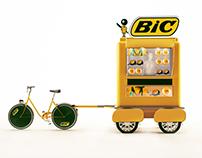 Diseño de  centros de canje BIC