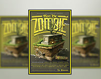 Meet The Zombie Flyer Template