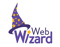 Designed Web Wizard Logo