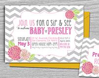 BABY PRESLEY - SIP N' SEE BABY SHOWER
