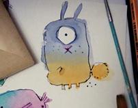Watercolor friends