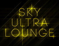 Sky Ultra Lounge - Event Poster