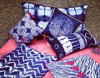 Shibori Cushion Covers