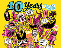 10 Years of Daily Drawings