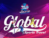 Cricket World Cup 2020 Brochure Design