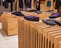 Corner concept store by IAM Architecture Studio