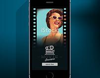 Ux concept design - Movie app design/ Iphone