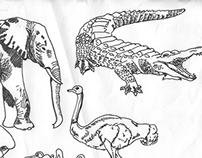20 Animal Illustrations
