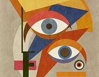 Bauhaus Bowie Portrait