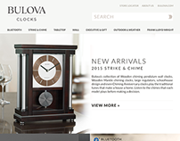 2015 Bulova Clocks Concept Design
