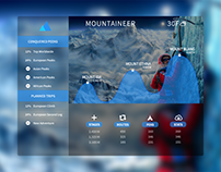 Redesign of the app for climbers