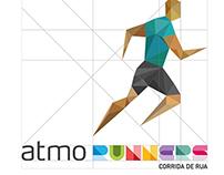 Identidade Visual para Equipe de Corrida Atmo Runners