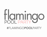 Flamingo pool party // Blog