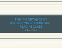 The Importance of Diversifying Literature Read in Class