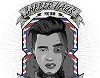 Logo for Barber