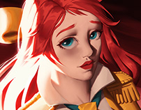 Portrait Battle Academia Lux Prestige Edition
