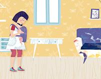 Ser Padres - Juntos a salvo -  Ilustraciones