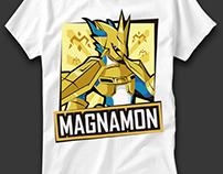 Magnamon playera