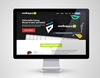 MathSpace Home Page Design (2013)