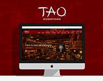 TAO Downtown - Website Design