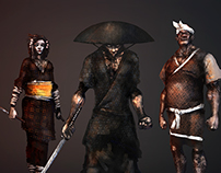 The Rogue Assassins from Edo