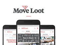 Move Loot Android App - Material Design