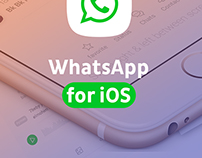 Whatsapp iOS Concept